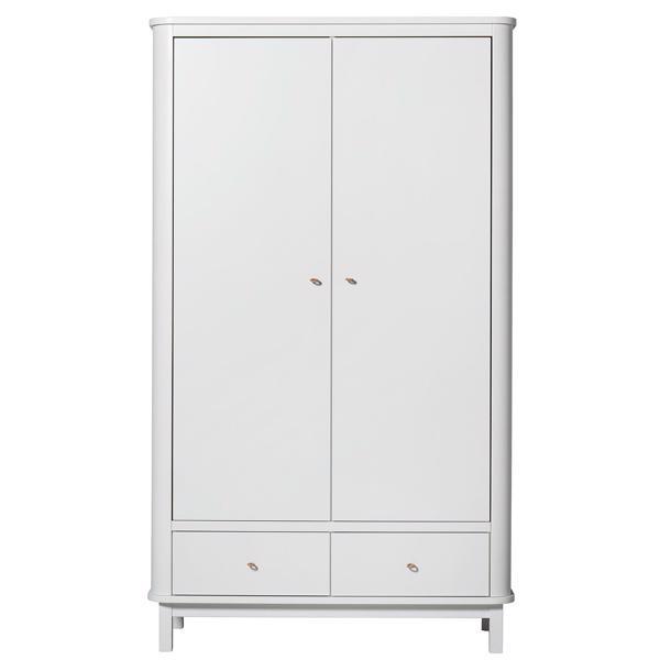 Oliver Furniture Wood Closet 2 Doors White