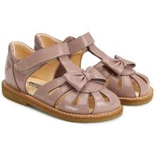 Angulus Sandal w. Bow and Velcro Rose 0501-101-1387