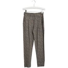 Wheat Greyblue Flowers Abbie Trousers