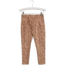 Wheat Caramel Flowers Abbie Trousers