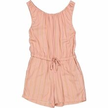 Wheat Peach Stripe Felicia Jumpsuit