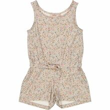 Wheat Dusty Dove Flowers Dahila Jumpsuit