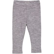 MarMar Wool Pointelle Grey Melange Leggings