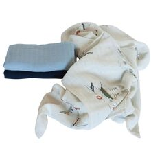Sebra Muslin Clothes Seven Seas 3-Pack