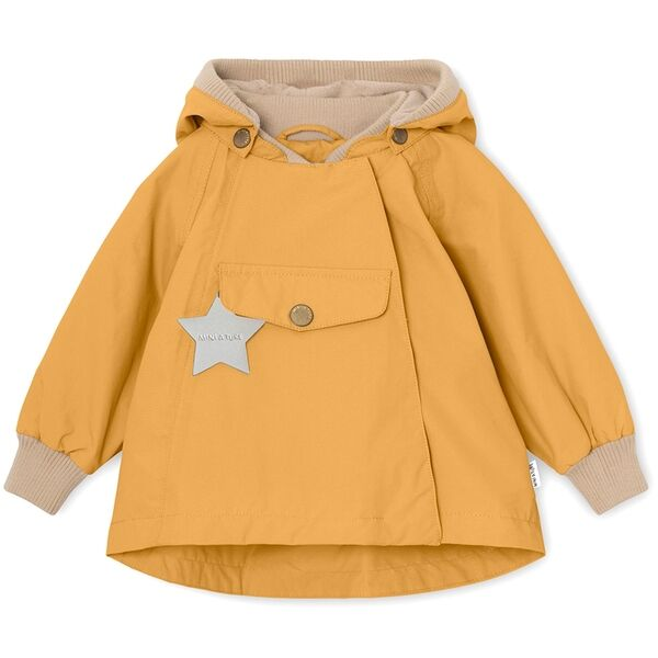 Mini A Ture Fleece Wai Waxed Honey Jacket