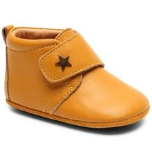 Bisgaard Indoor Shoes Velcro Star 12301 Mustard