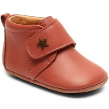 Bisgaard Indoor Shoes Velcro Star 12301 Old Rose