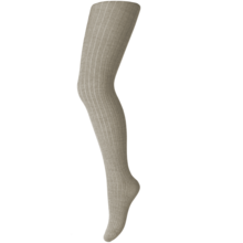MP Wool Rib Tights Light Brown