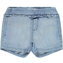 Lil'Atelier Light Blue Denim Shorts Randi