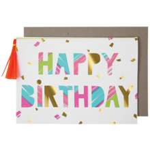 Meri Meri Happy Birthday Paint Card