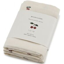 Konges Sløjd Muslin Cloths 3 pk. Cherries