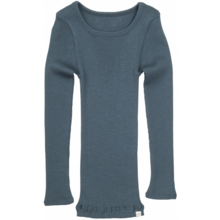 Minimalisma Wool Atlantic Blouse Thunder Blue