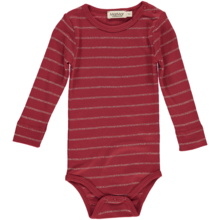 MarMar Stripes Lurex  Red Gold Plain Body
