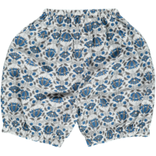 Pierrot la Lune Elena Bloomers Blue/ Grey Flower Print