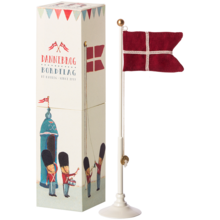 Maileg Danish Flag 25,5 cm Flagpole