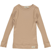 MarMar Modal Rose Brown Plain Tee LS