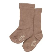 MarMar Rose Brown Lurex 3-pk Socks