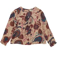 MarMar Morning Roses Lilies Crispy Poplin Tuss Shirt/Top