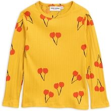 Mini Rodini Yellow Cherry Tee LS