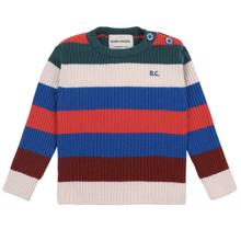 Bobo Choses Multicolor Stripes Jumper