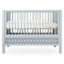 Cam Cam Harlequin Baby Bed Grey