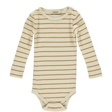 MarMar Modal Pumpkin Pie Stripe Bo Body LS