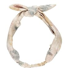 MarMar Feather Print Jersey Alpha Hairband