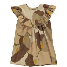 MarMar Girls Print Crispy Poplin Drine Dress