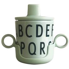 Design Letters ABC Green Grow With Your Cup Melamine