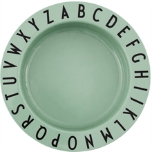 Design Letters Green Tritan ABC Bowl