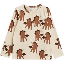 Mini Rodini Unicorns AOP Grandpa Blouse