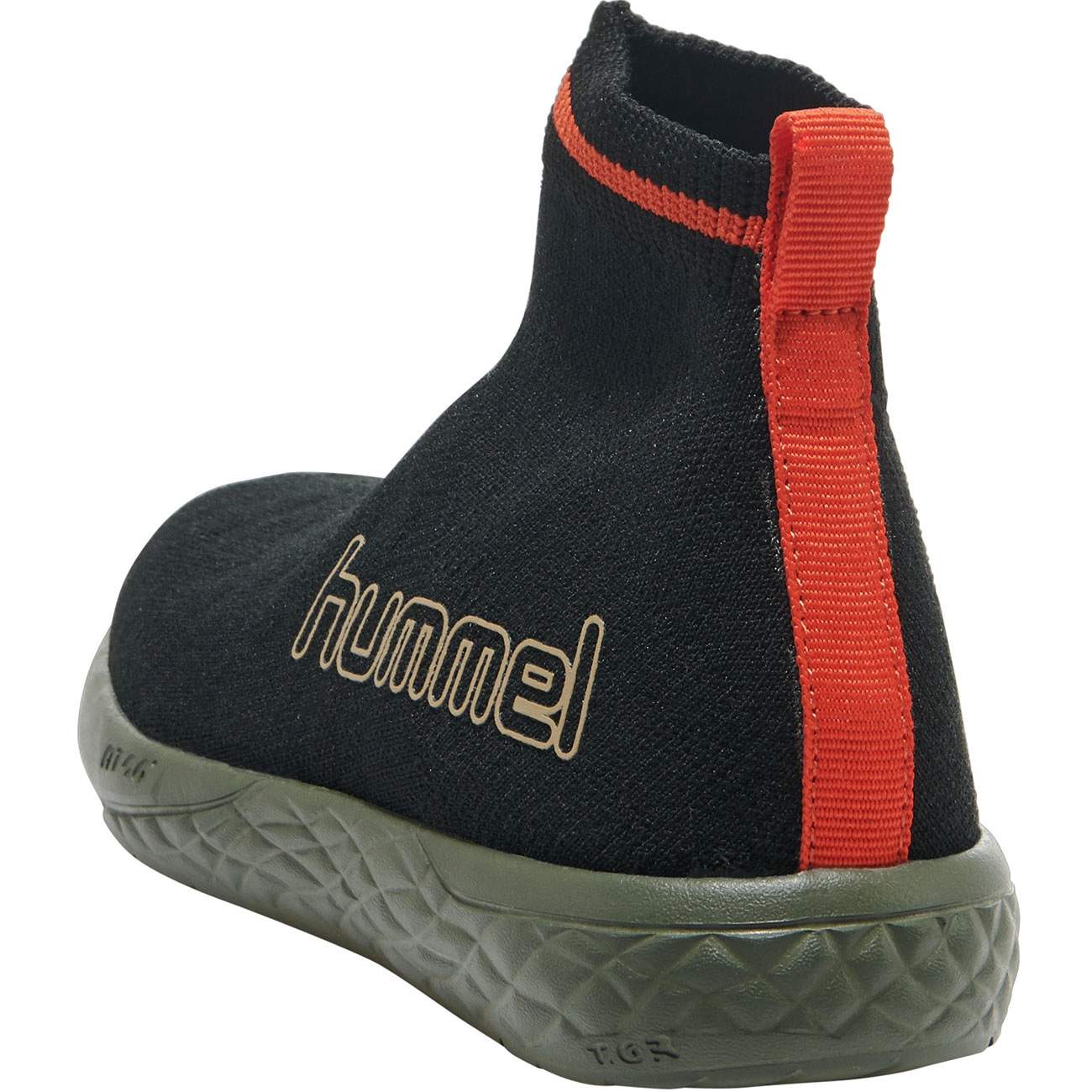 Hummel Terrafly Sock Runner Jr BlackGreen