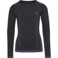 Hummel Black/Graphite Lullu Seamless Blouse
