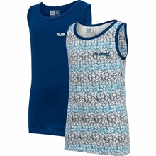 Hummel Estate Blue Nolan 2-pack Tank Top