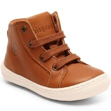 Bisgaard First Step Shoes Tage Cognac