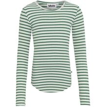Molo Jungle Ivory Stripe Rochelle T-Shirt LS