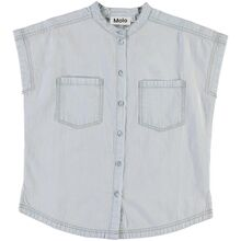 Molo Washed White Rae S/S Shirt