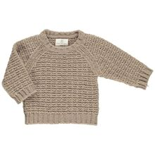 Gro Taupe Isac Knit Sweat
