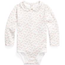 Ralph Lauren Baby Girl Floral Bodystocking Floral Pink