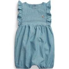 Ralph Lauren Baby Girl Shortall Polo Indigo