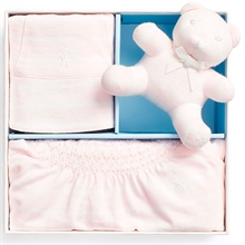 Ralph Lauren Baby Girl Gift Box Set Rugby Jersey Delicate Pink