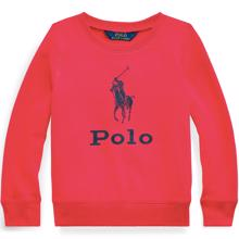 Polo Ralph Lauren Girl Sweatshirt Graphic Sport Pink