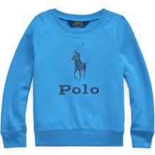 Polo Ralph Lauren Girl Sweatshirt Graphic Colby Blue