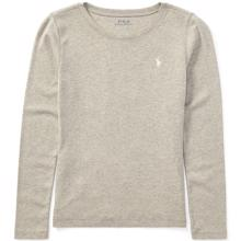 Polo Ralph Lauren Boy Long Sleeve T-Shirt Light Heather Grey
