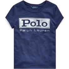Polo Ralph Lauren Boy Short Sleeved T-shirt Graphic French Navy