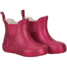CeLaVi Wellies Basic Short Pink Glitter