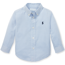 Ralph Lauren Baby Boy Long Sleeve Shirt Blue