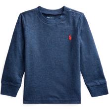 Ralph Lauren Baby Boy Long Sleeve T-Shirt Navy