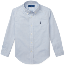 Polo Ralph Lauren Boy Long Sleeved Oxford Shirt BSR Blue