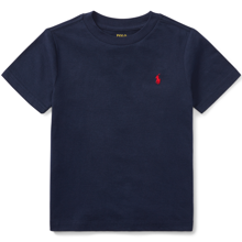 Polo Ralph Lauren Boy Short Sleeved Tee Cruise Navy